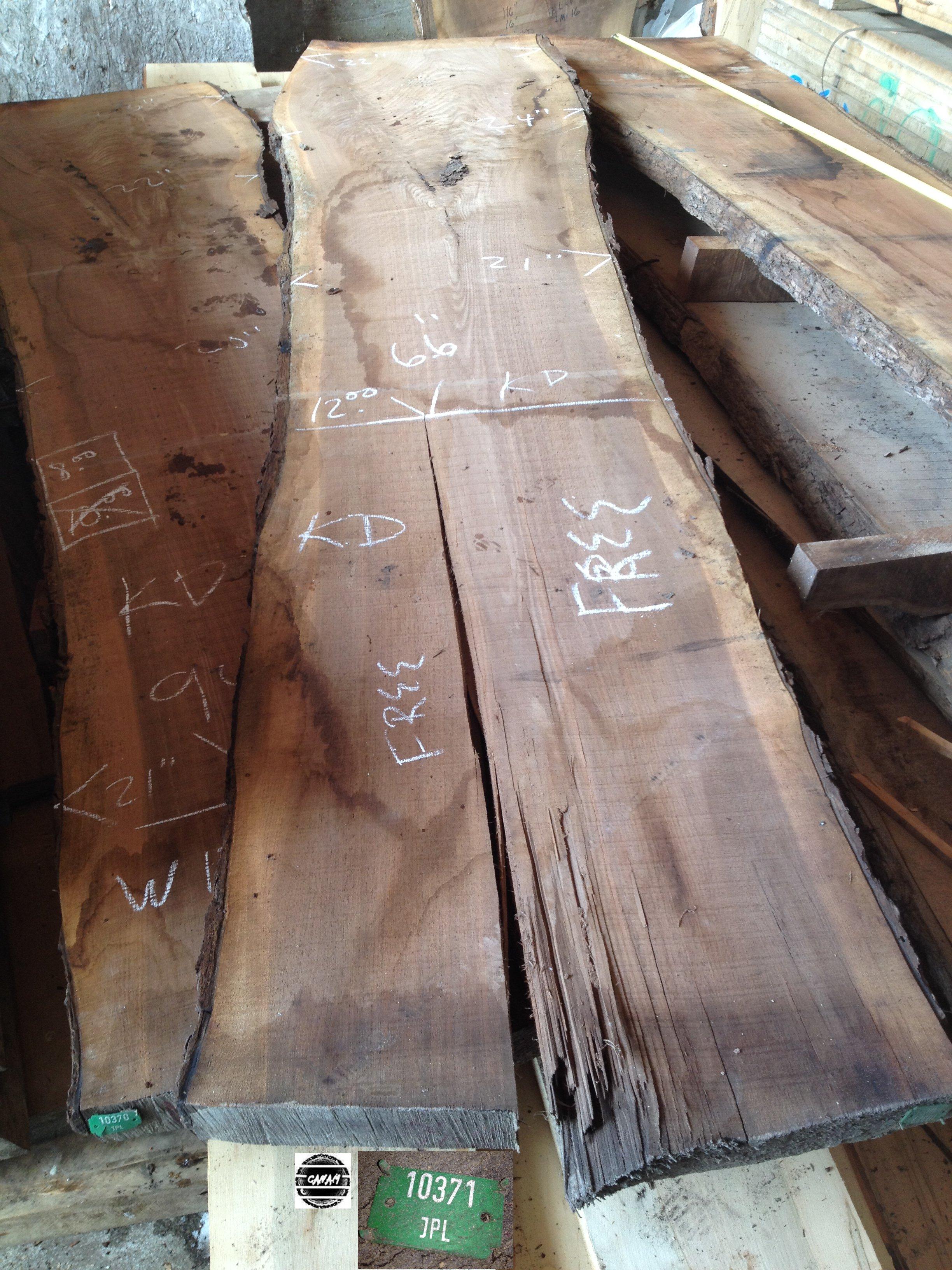 Dessus de table noyer noir bois lavoie - Recuperation de bois gratuit ...